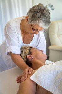 Pratique massage nuque