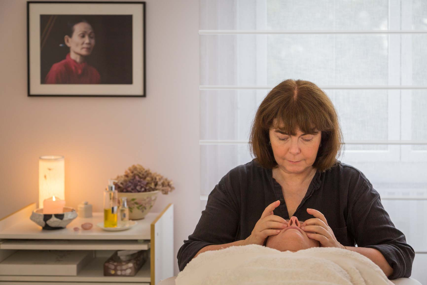 Seance massage individuel Francoise Weber