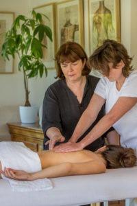 Enseignement massage dos