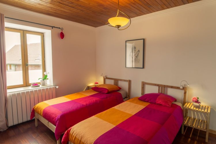 Chambre duo St Usuge