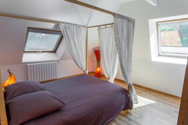 Chambre lit double (2) site